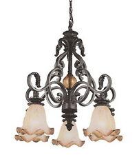 Rustic Bronze 5 Light Chandelier