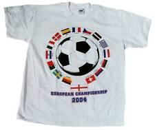 RARE Unworn OFFICIEL européen CHAMPIONNAT soccer football Tee-shirt XL