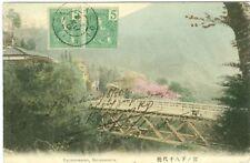 Japan, Yachiyobashi, Miyanoshita, Brücke, um 1900/10