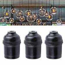 1× E27 Lampenfassung Vintage Deckenfassung Sockel Fassung Pr Anhänger Lampe V5P4