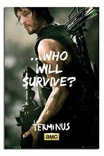 The Walking Dead Poster-Daryl Nuevos-Maxi Talla 36 X 24 Pulgadas