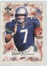 2001 Private Stock Gold Foil #21 Jon Kitna Cincinnati Bengals Seattle Seahawks