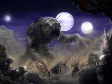 Rancor Dathomir Hunters Night Art Star Wars Huge Print POSTER Affiche