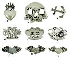 Rock Rebel Usa Belt Buckle Gothic Vintage Silver Metal Tattoo Tribal Men Celtic
