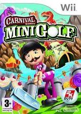 Mini Golf (3+) 2008 Juegos De Nintendo Wii Carnival