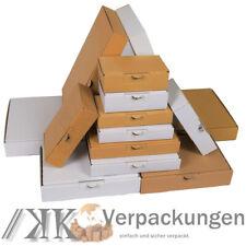 Maxibrief Kartons Sorte & Größe wählbar! Faltkarton Postkarton Faltschachteln