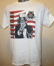 God Bullies Join Satans Army Noise Rock Music T Shirt Goth Metal Helmet Tar 091