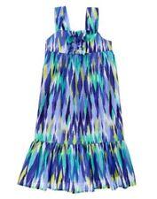 NWT Gymboree Sparkle Safari 4 5 6 7 8 10 Girls Ikat Ruffle Dress Girls