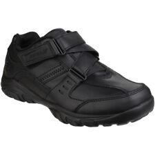 ae300b6b6470 Skechers Boys Grambler Zeem Zigzag Strap Oxford School Shoes