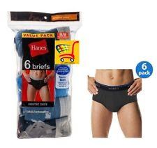 Hanes Men's Cotton Tagless Briefs w/ Comfort Flex Waistband Assorted Colors 6-Pk