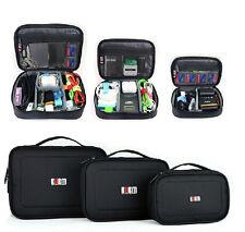 BUBM Waterproof Travel Digital Storage Bag Data Cable USB Organizer Case S M L