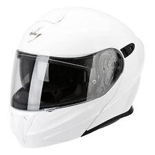 Casco de moto modular Scorpion Exo-920 Solid White
