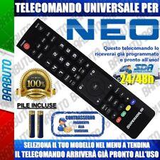 TELECOMANDO UNIVERSALE NEO CLICCA IL TUO MODELLO LO RICEVERAI GIA PRONTO