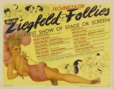 Ziegfeld follies Fred Astaire #4 movie poster