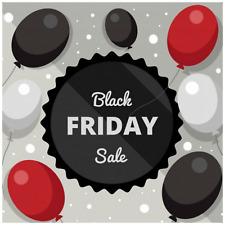 25.4cm Uni ballons en latex pour Black Friday slae 100 Mélange de couleurs