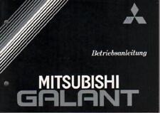 MITSUBISHI  GALANT  6 Betriebsanleitung  1990 Bedienungsanleitung Handbuch BA