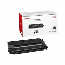 Genuino CANON E30/e-30/1491a003ba NEGRO CARTUCHO DE Tóner Impresora láser