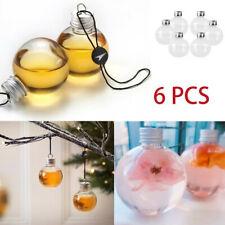 1 / 6pcs Decoration Transparent Small Spherical Drink Cup Decoration Cup