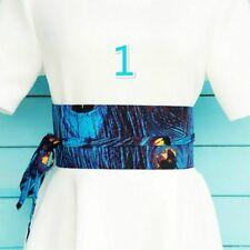 Japanese Obi Belt Waistband Corset Floral Yukata Kimono Sash Tie Width 8-12CM