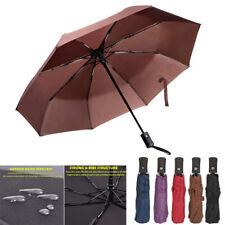 Auto Open/Close Umbrella Anti-UV Sun/Rain Windproof 3 Folding Compact Umbrella