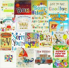 Dejando / Bon Voyage Tarjeta General-Varios Diseños Disponibles