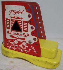 1950's~Wood Playskool~Kids in a Shoe