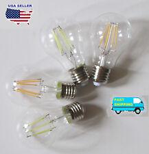 Edison Vintage 110V E26/E27 A19/A60 40W/60W equivalent Filament LED light bulbs