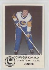 1981 Saskatoon Blades PLAY (Police Laws and Youth) #11 Roger Kortko Hockey Card