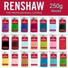 Renshaw Regalice Culpitt Sugarpaste Ready Roll Icing Fondant Blue White Hot Pink