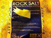 20 X 10KG BAGS = 200 KG PREMIUM ROCK SALT 10KG - BROWN +  FREE 24 HOUR COURIER