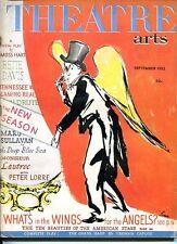 Truman Capote The Grass Harp Sept 1952 Theatre Arts Monthly Magazine