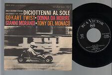 """7"""" MORANDI GO KART TWIST DEL MONACO DONNA DA MORIRE FILM DICIOTENNI AL SOLE OST"""