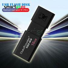Kingston DataTraveler DT100 G3 16/ 32/ 64GB USB 3.0 Flash Stick Drive BSG
