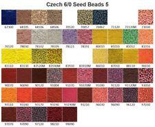 Czech 6/0 Glass Seed Beads 5