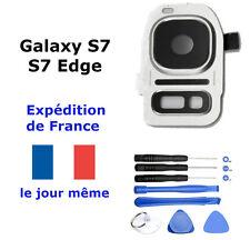 VITRE CAMERA Arrière Samsung Galaxy S7 / S7 EDGE ARGENT-lentille photo G930/G935