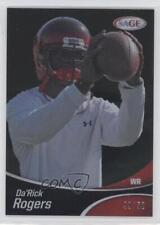 2013 SAGE Black #SP49 Da'Rick Rogers Indianapolis Colts Rookie Football Card