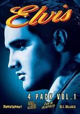 Elvis: 4-Pack, Vol. 1 (DVD, 2011, 4-Disc Set) SEALED DVDS SET!!!
