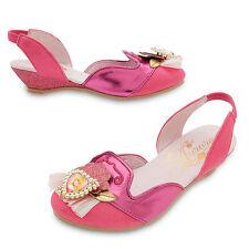 Disney Store Princess Aurora Costume Dress Shoes Girl Size 11/12
