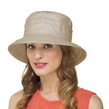 Ladies Adjustable Bucket Sun Hat (LP1956) Foldable/Packable/Holiday/Beach