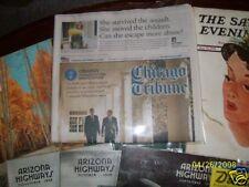 ACID & LIGNIN FREE CELLOPHANE CLEAR NEWSPAPER ARCHIVAL BAGS ENVELOPES 6@ 12 x 16