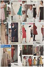 Vtg Vogue Designer Sewing Pattern Choice Miyake Klein Unger Givenchy Uncut
