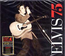 """COFFRET 3 CD 75T ELVIS PRESLEY """"ELVIS 75"""" DE 2010 NEUF SCELLE"""