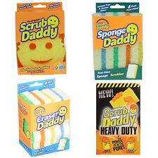 Scrub Daddy Eraser Sponge Heavy Duty Kitchen Cleaner Non Scratch Stick Lemo
