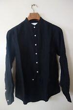 ALEXANDER YAMAGUCHI Front Hook Long Sleeves Linen Men Shirt Sze S, M, L, XL NWT