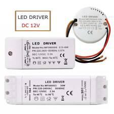 LED Driver Trafo 12V DC 30W 50W 60W 20W 18W 15W Netzteil Treiber Transformator