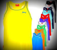 Mens NEW Slazenger Muscle Vest Sleeveless Gym Top Size S M L XL XXL 4XL