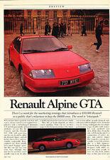 1985 Renault Alpine GTA - Classic Article D27