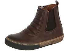 Bisgaard chelsea botas de cuero 50707-216-302 marrón talla 24-35 nuevo