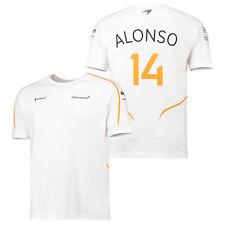 McLaren Official 2018 Fernando Alonso T Shirt Tee Top Ventilation Mens Fanatics