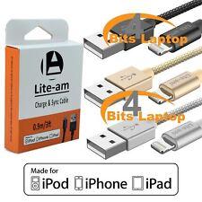Lite-AM ® 3 FT (environ 0.91 m) Apple iPad iPod MFi certifié Lightning Charge USB et câble synchronisation